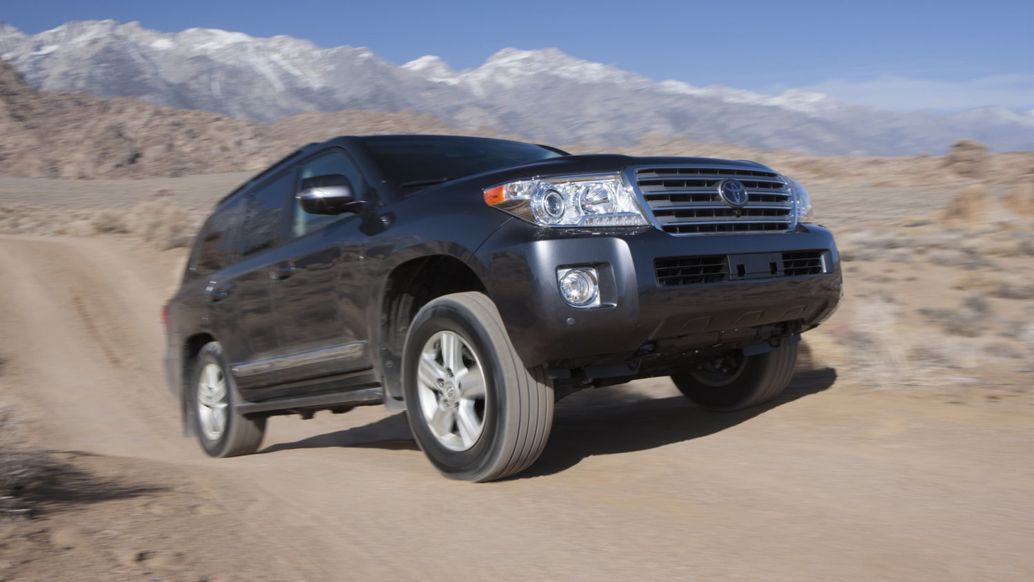 Corporate toyota land cruiser
